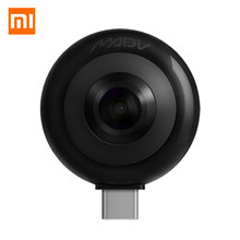 New Xiaomi MADV Mini 360 Degree Panorama VR Camera 13MP CMOS Sensor 5.5K HD Video Live Stream Enabled Android Version USB Type C(China)