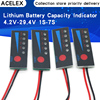 1S 2S 3S 4S 5S 6S 7S 4.2V-29.4V Lithium Battery Li-po Li-ion Capacity Indicator Board Power Display Charging Charge LED Tester
