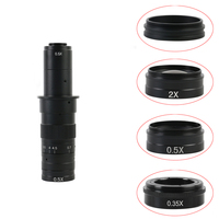 0.3X 0.35X 1X 0.5X 2.0X Auxiliary Barlow Objective Lens For 120X/180X/300X C-Mount Industrial zoom lens