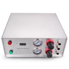 Contrôleur de distribution vanne de pulvérisation Double gaz Double effet pression datomisation réglage indépendant 110v universel 220v