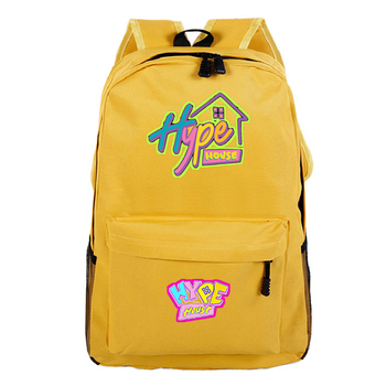 The Hype House Daypack Laptop Backpack Kids Bookbag Boys Girls Schoolbags Teenagers Backpack Rucksack for Students Schoolbag