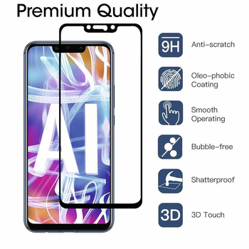 100Pcs Full Cover Tempered Glass For Huawei P Smart Z P Smart Plus 2019 Mate 30 Mate20 Lite Mate 10 Pro Screen Protector Film