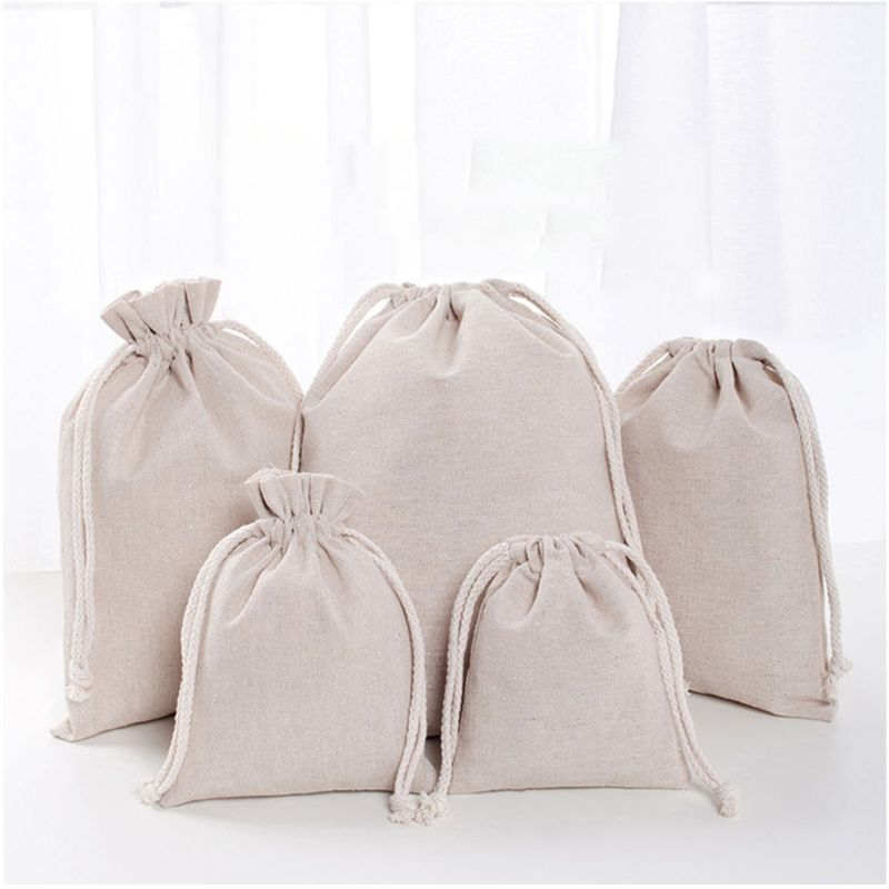 Travel Linen Storage Bag Drawstring Organize Home Pouch Laundry Luggage Packing Case