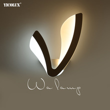 Wall-Lamp Indoor-Lighting-Lamp LED Bedroom White AC 1 for 12W Ac100-265v/led
