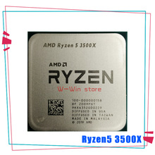 CPU Processor 3500x3.6-Ghz R5 Amd Ryzen AM4 100-000000158-Socket Six-Core 7NM 65W L3--32m