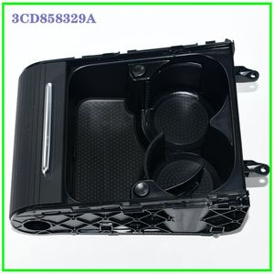 0EM Armrest Cover Black Drink Cup Holder Tray Storage Box For Passat CC B6 B7 3CD858329A 3CD 858 329 A
