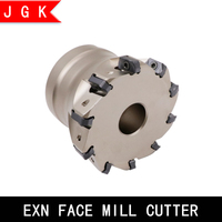 EXN 03R Mill cutter head exn03r face milling cutter head for lnmu lnmu0303 lnmu0303zer 6t 8t 10t 12t shock resistant