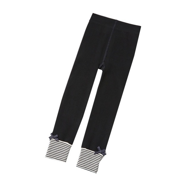HIPAC 2020 Girls Striped Legging 레깅스 유아 소녀 스타킹 솔리드 패션 귀여운 아름다운 흰색 검정색 갈색 회색 바지