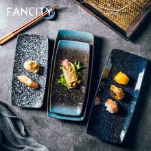 Креативная керамическая тарелка fancity для суши жареная с крыльями