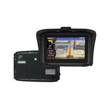 KARADAR Prolech Reiter, 4,3 inch touchscreen 2 farben auf lager EINE Motorrad GPS Guidance System Freies Verschiffen