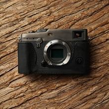 3 xpro aydgcam ケース本革カメラケース手作りハーフ富士フイルム