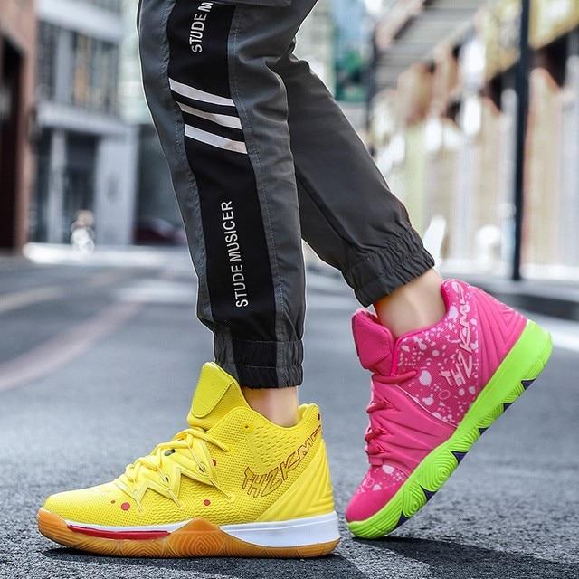Zapatillas de deporte de alta calidad para hombre y mujer, Zapatos de baloncesto transpirables de malla, deportivas de superestrella para parejas 3