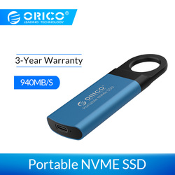 Orico Mini Externe Ssd M2 Nvme Harde Schijf 1 Tb Ssd 128 Gb 256 Gb 512 Gb M.2 Nvme Draagbare ssd Usb C 3.1 10Gbps Solid State Drive