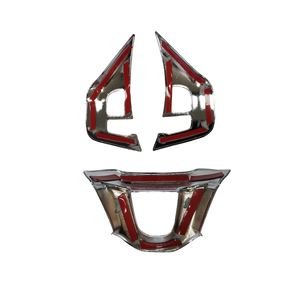 Image 5 - for Peugeot 208 208gti 2008 308t9 2016 steering wheel sticker emblem decal badge trim flying wheel panel interior accessories