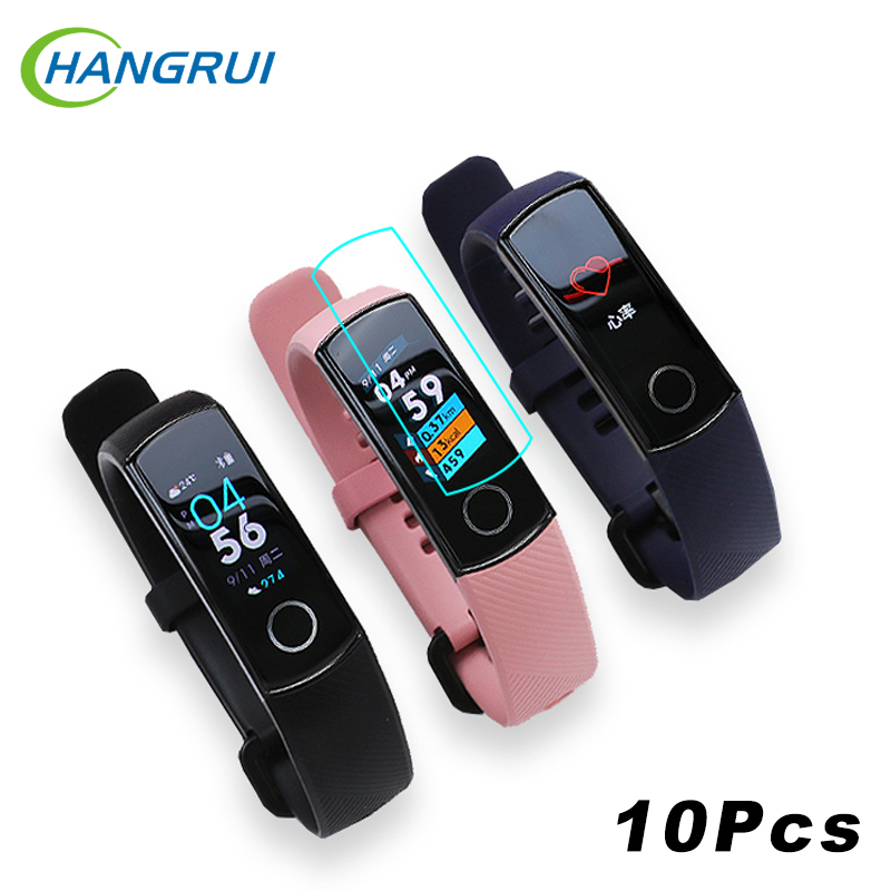 10Pcs Screen Protector For Original Huawei Honor Band 5 4 Protective Film Soft TPU Cover Accessories For Huawei Honor Band 5