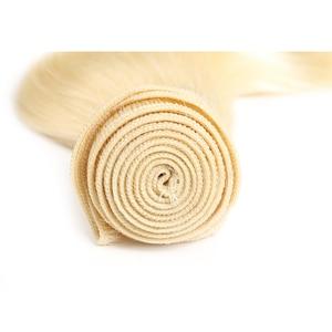 Image 5 - Sóng Thân Tóc Bó X TRESS Brasil Bạch Kim Tóc Vàng 613 Tóc Bó 8 26 Inch Không Remy Lưng tóc Dệt Phần Mở Rộng