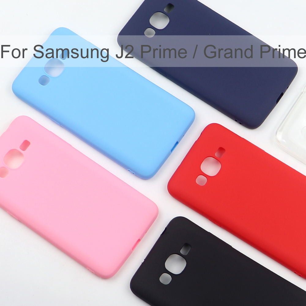 Silicone Case For Samsung Galaxy J2 Prime / Grand Prime Phone TPU Soft Back Case Cover Coque Funda
