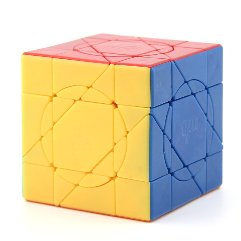 Original High Quality MF8 Unicorn Axis Super Magic Cube Skewed Wisdom Speed Puzzle Christmas Gift Ideas Kids Toys For Children