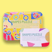 Детские diy 3d деревянные головоломки доска набор красочные