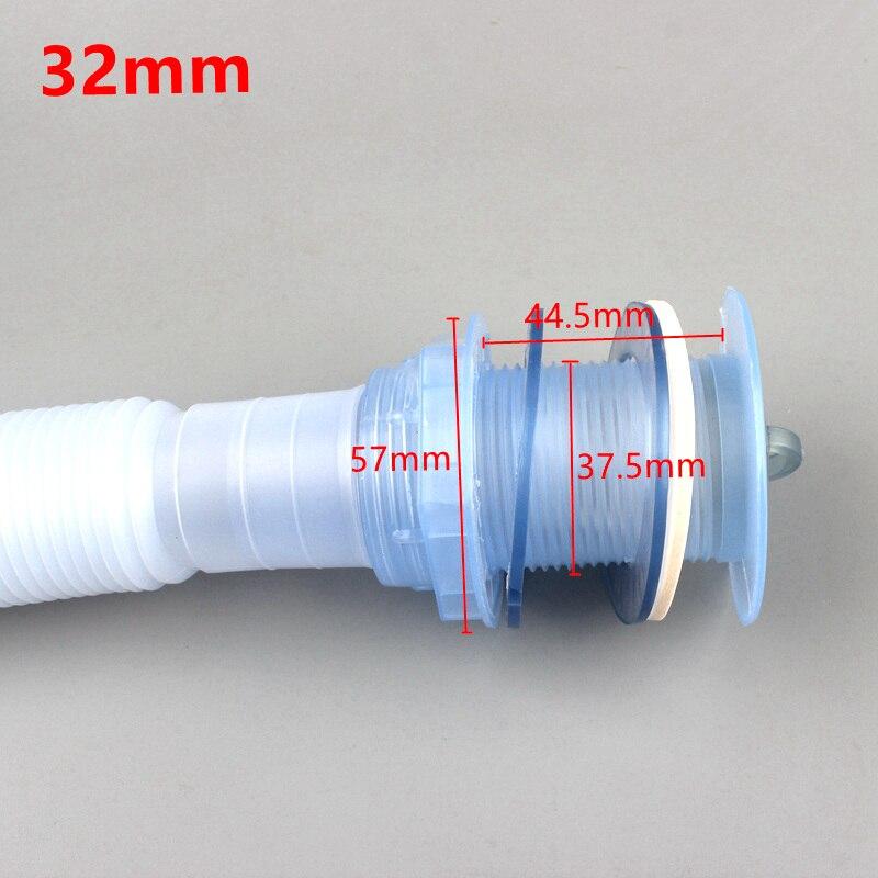 1 шт 32/40/50 мм Труба раковины для дренажа кухни гибкий шланг