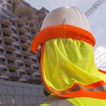 Защитный шлем для строительных работников твердая шляпа сетчатый
