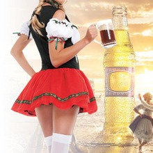German Oktoberfest Beer Girl Clothing Bar Waiter Maid Uniform