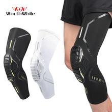 WorthWhile-rodilleras para baloncesto, Protector de rodilla de espuma elástica para voleibol, equipo de Fitness, soportes de entrenamiento deportivo, 1 ud.