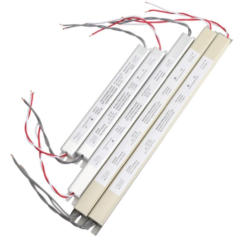 Ultra Dünne LED Netzteil 18W 25W 36W 48W 60W Beleuchtung Transformator AC110-220V ZU DC12V fahrer für LED Streifen Werbung Bord