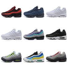Zapatillas deportivas informales con cojín para hombre y mujer, calzado deportivo transpirable de alta calidad, 95, 2021