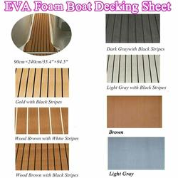 Steering Deluxe Marine Faux Vloeren Voor Vel Boot Styling Eva Teak Decking Sheet Foam Boot Accessoires Decking Sheet Mat