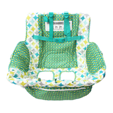 3 in 1 Multifunction Highchairs Cover Printing baby dining chair Cover diaper mommy bag feeding seat Cushion for baby toddler