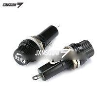10PCS FUSE fuse holder 6*30 high quality fuse holder/fuse holder 10A/250V AC