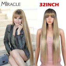 Чудо блондинка парики для черных женщин синтетический парик