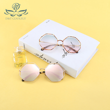 Current European Style UV400 Sunglasse Shield Shape Candy Co