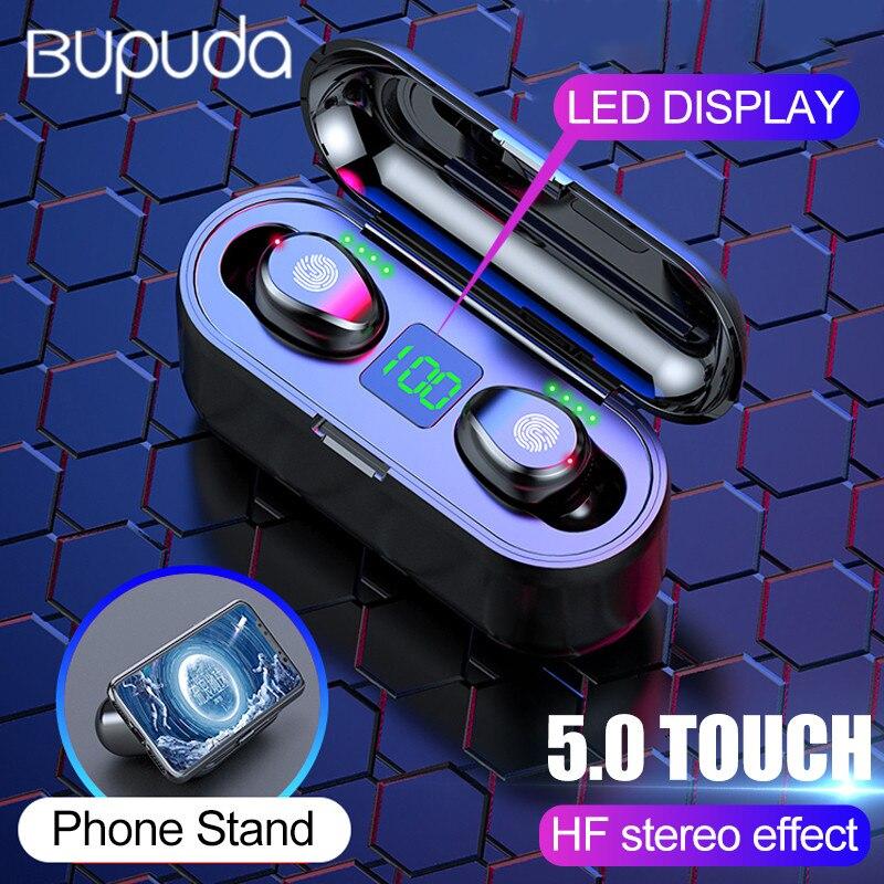 Bluetooth Earphones 5 0 Mini Wireless Headset Power Display Earphone With Charging Box Sport Earbuds Gaming Headphones Headset In Bluetooth Earphones Headphones From Consumer Electronics On Aliexpress