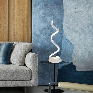 Image 4 - Modern 20W LED Table Lamp for Home Bedroom Reading Desk Light Bedside Lamp Study Eye Protect US/EU Plug