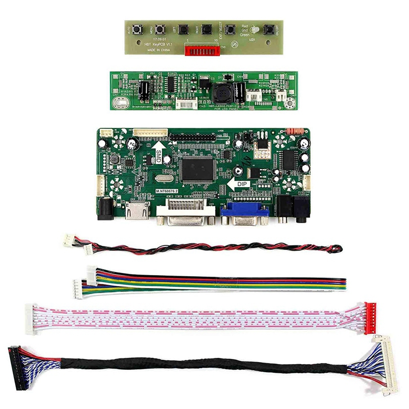 Hdmi Vga Dvi Audio Lcd Driver Board For 17Inch M170Etn01.1 1280X1024 6Pin Led Backlight 30Pin Lcd Screen|Operational Amplifier Chips| |  - title=