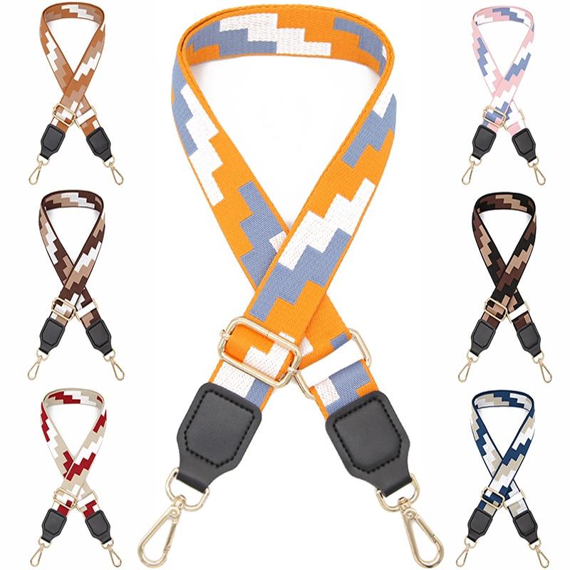 Fashion  Wide 3.8cm Women New Messenger Bag Strap Lady Accessories Adjustable Replacement Strap Belt  Shoulder Strap For Handbag