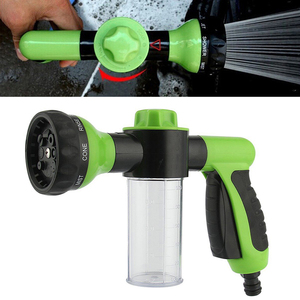 Image 1 - 8 ב 1 בלחץ גבוה ספריי רכב לשטוף שלג קצף מים אקדח מכונית נקי צינור מכונת כביסה