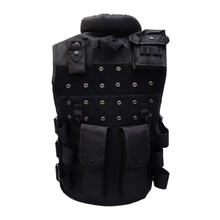 Men Hunting Vest Outdoor Waistcaot Military Training CS Swat Protective Modular Safety