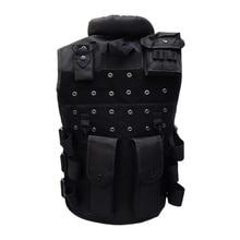 Men Hunting Vest Outdoor Waistcaot Military Training CS Vest Swat Protective Modular Safety Vest цены