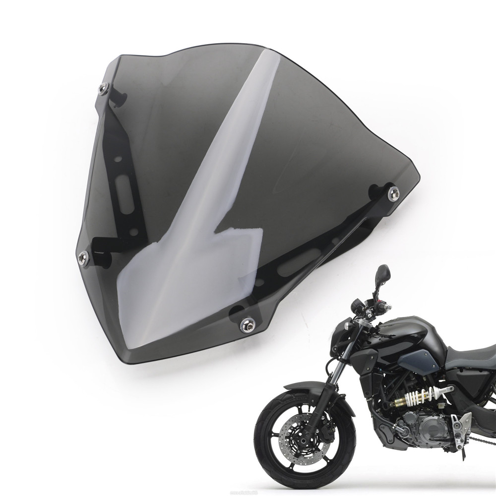 Front Windshield Motorcycle-Accessories Fz-07 Mt07 Yamaha  title=