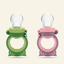High quality silicone Baby nipple Fresh Food Nibbler Pacifiers Feeder Kids Fruit feeding Safe Supplies Nipple