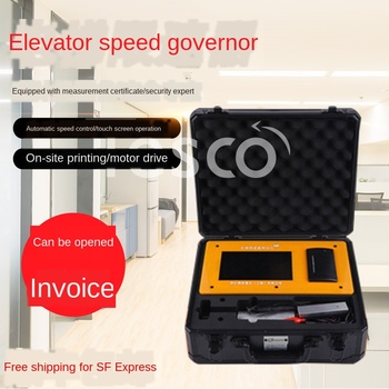 Portable Elevator Speed Limiter Tester Electric Drill Type Verification Elevator Action Speed Safety Detector недорого