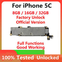 Factory unlocked Motherboard for iphone 5C Motherboard ,100% Tested for iphone 5C Logic Board With Full Chips OS Support
