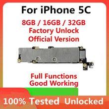 Iphone 5C 마더 보드 용 공장 잠금 해제 마더 보드, 전체 칩 OS 지원 iphone 5C 로직 보드 용 100% 테스트