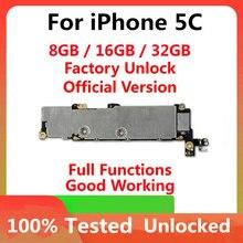 מפעל נעול האם עבור iphone 5C האם, 100% נבדק עבור iphone 5C היגיון לוח עם מלא שבבי OS תמיכה