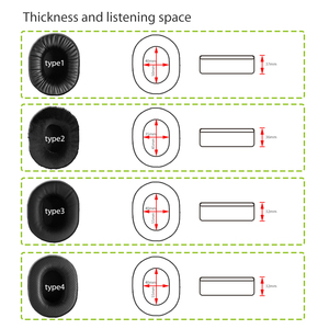 Image 2 - NullMini Replacement Earpads for Turtle Beach EarForce PX22 Headphones Memory Foam Thicken Leather Sleeve Earphone Earmuff
