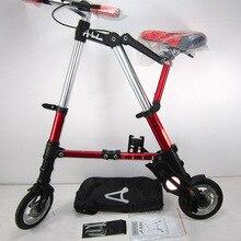 Multifunctional folding bicycle Mini Portable Walking Artifacts Outdoor Sports F