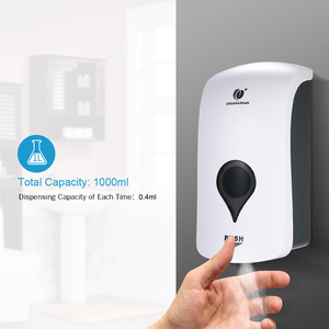 Image 2 - CHUANGDIAN Alcohol Sanitizer Dispensers for Thin Liquid Wall Mounted Soap Dispenser Spray Type Rinse free Disinfectant Holder